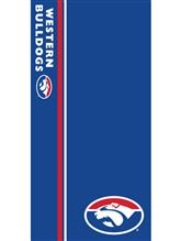 AFL Western Bulldogs Beach Towel