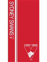 AFL Sydney Swans Beach Towel