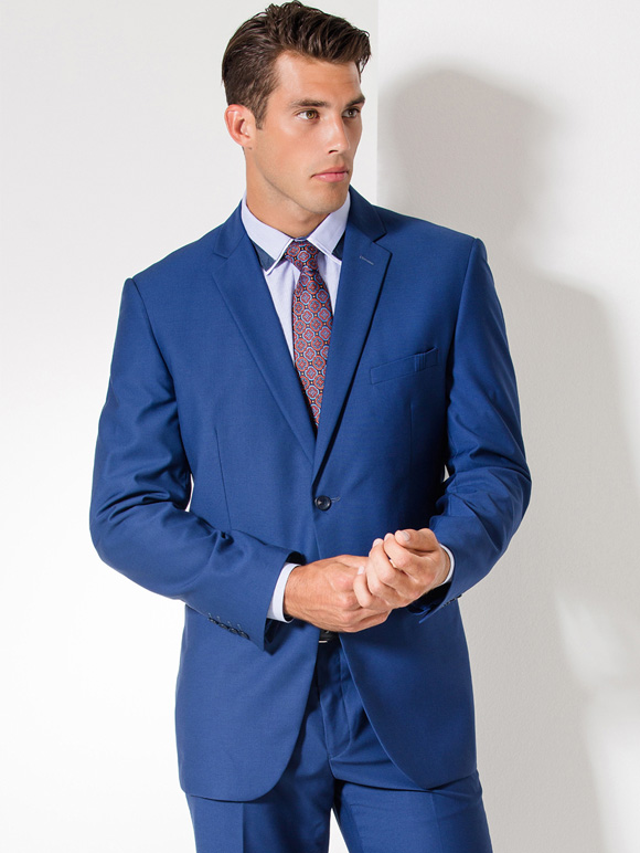 French Navy Blue Suit Go Suits