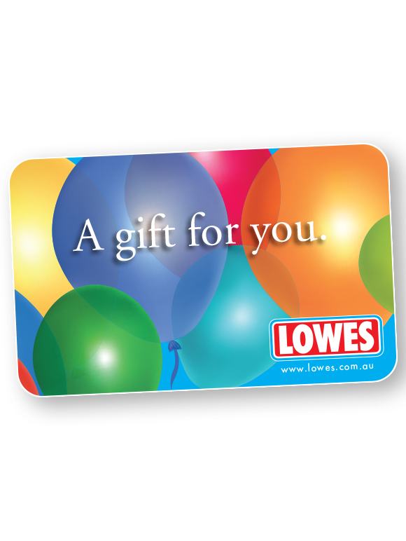 Lowes Seniors - Gift Card